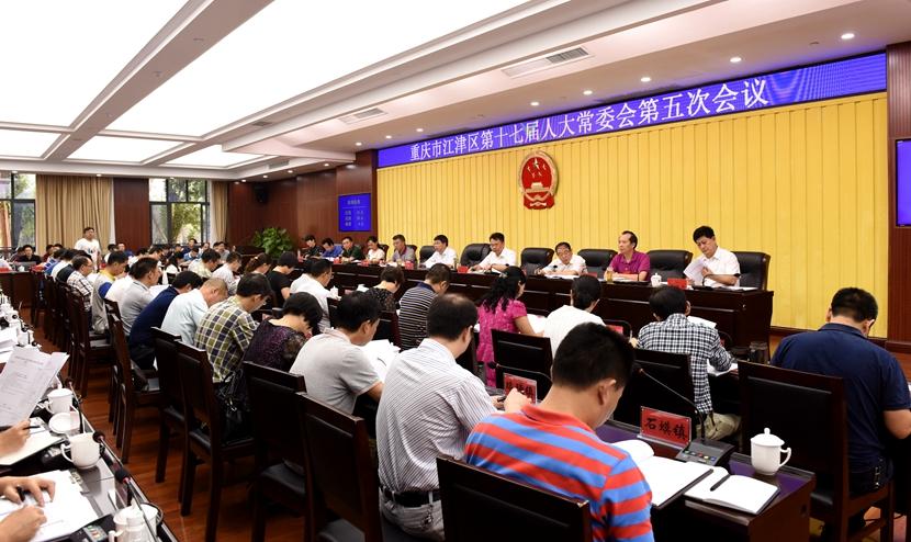 区第十七届人大常委会第五次会议召开